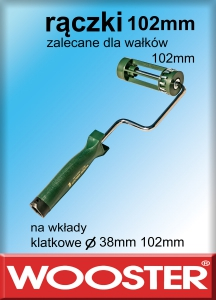 rączki do wałków 102mm 4""