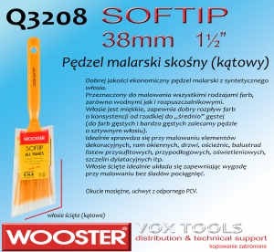 Q3208 AS SofTip 38mm  1-1/2 pędzel malarski  skośny
