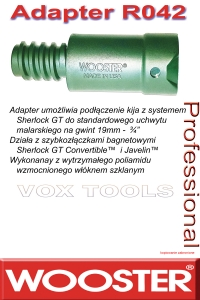 R042 adapter do Sherlock GT i Javelin