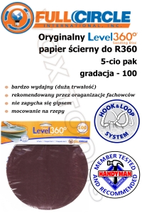 SD100-5 gr 100 do R360 - papier do gipsu FCI